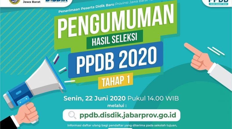 INFO DAFTAR ULANG PPDB 2020 TAHAP 1